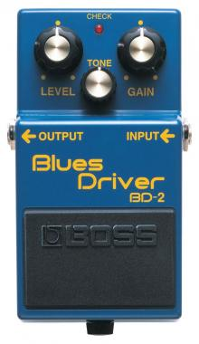 Boss BD-2 Blues Driver OVERDRIVE A PEDALE