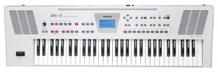 Roland BK-3 WH Keyboard Weiß