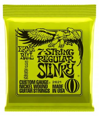 Ernie Ball 2621 Regular Slinky 7-String