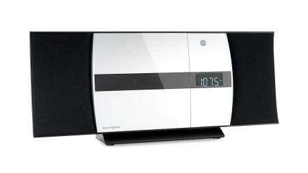 Bennett & Ross Ålesund Vertikal Stereoanlage mit CD/MP3-Player, USB/SD-Slots und Bluetooth  - Retoure (Zustand: sehr gut)