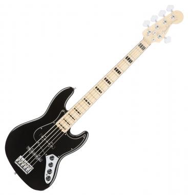 Fender American Elite Jazz Bass V MN BLK
