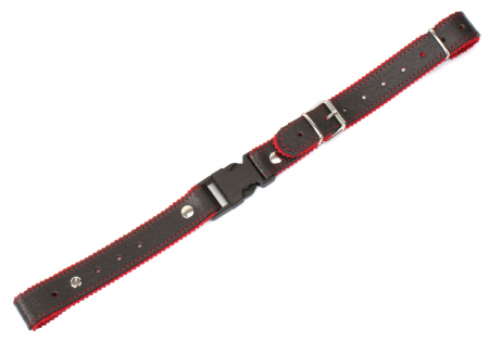 Alpenklang Straps for Accordion / Harmonica Brown / Red