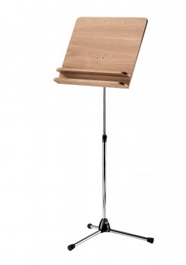K&M 118/3 Orchesterpult  Nußbaum