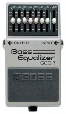 Boss GEB-7 Bass- Graphik- Equalizer