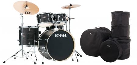 Tama IE52KH6W-BOW Imperialstar Drumkit Black Oak Wrap Set inkl. Gigbags