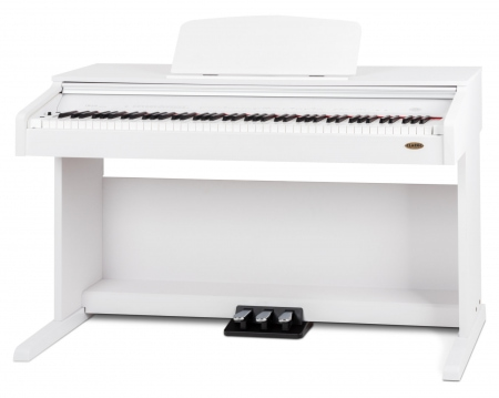 Piano eléctrico blanco mate Classic Cantabile DP-210 WM