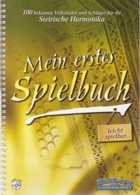 Mein erstes Spielbuch + CD - Noten für Steirische Harmonika