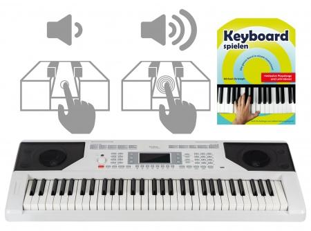 FunKey 61 Edition Touch Weiß Set inkl. Schule