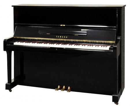 Yamaha U1 Klavier schwarz, gebraucht