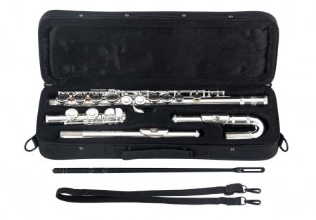 Classic Cantabile FL-200U Silver Plated Transverse Flute