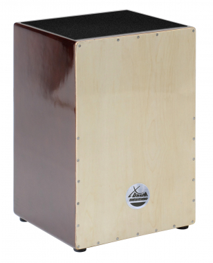 XDrum Cajon Nature Series Brown Wood