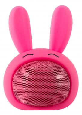 "iCutes Bluetooth Altavoz ""conejo'' rosa"