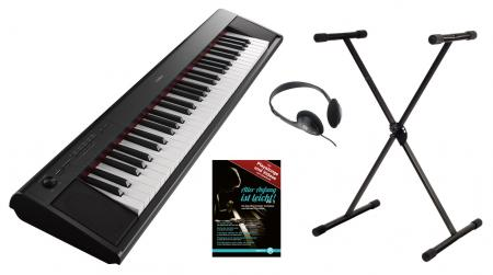 Yamaha NP-12B Stagepiano schwarz Set