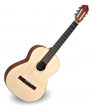 Calida Cadete Konzertgitarre 4/4 Fichte Matt - Made in Portugal  - Retoure (Zustand: akzeptabel)