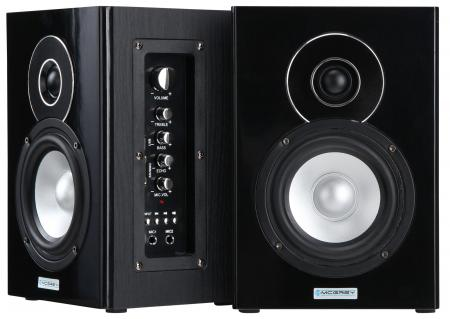 b ware aktiv 5 13cm dj studio monitor bluetooth hifi lautsprecher subwoofer ebay. Black Bedroom Furniture Sets. Home Design Ideas