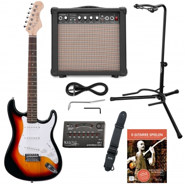Rocktile Sphere Electric guitar Classic-Set sunburst