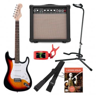 Rocktile Sphere E-Gitarren Classic-Set Sunburst