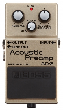 Boss AD-2 Acoustic Preamp Effektpedal