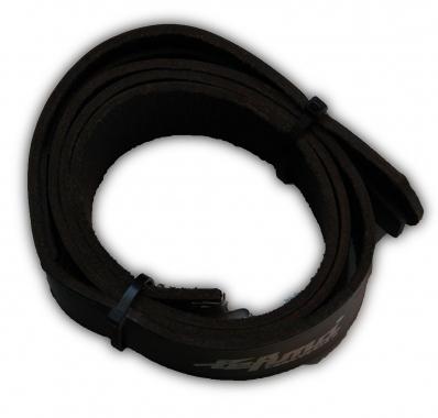 Lefima 483-110 s Koppel 110cm Leder, schwarz Aussteller