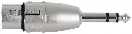 Pronomic AD-JSXF Adapter 6,3mm Stereo-Klinke male / XLR female
