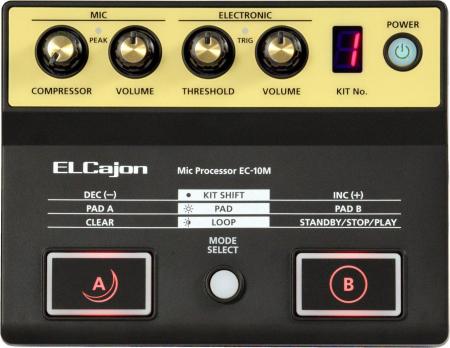 Roland EC-10M ELCajon Mic Processor  - Retoure (Zustand: sehr gut)