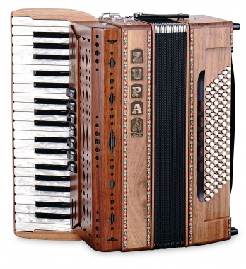 Zupan Eco IV 96 M Accordion Walnut