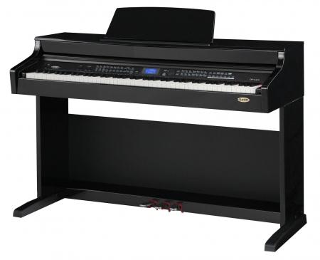 Classic Cantabile DP-A 410 SH E-Piano Schwarz Hochglanz  - Retoure (Zustand: sehr gut)