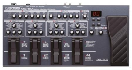 Boss ME-80 Gitarren Multieffekt und Looper