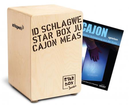 Schlagwerk CP400SB Star Box Kids Cajon SET inkl. Cajonschule