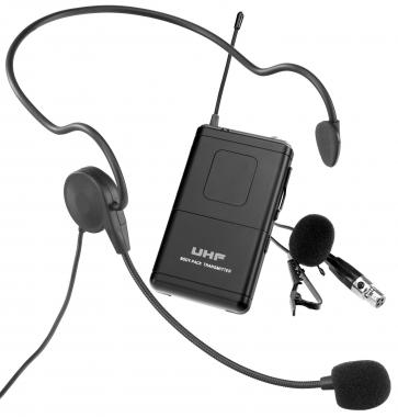 McGrey UB-IK2 Funk Taschensender Set mit Headset