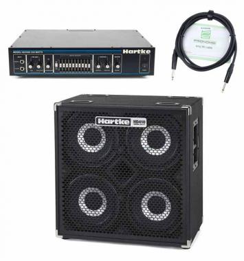 Hartke HyDrive HD410 Set inkl. HA 3500 Bass Topteil