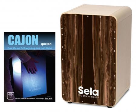 Sela SE 105 CaSela Dark Nut Set inkl. Cajonschule