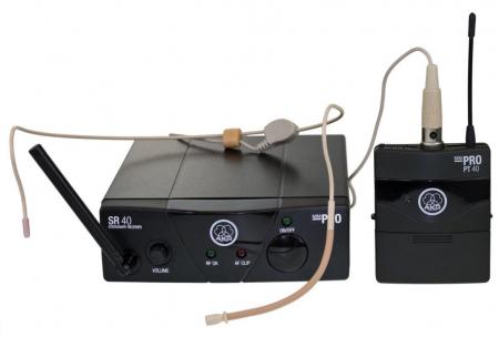 AKG WMS 40 Mini Sport Funk Headset ISM3 864,850 MHz