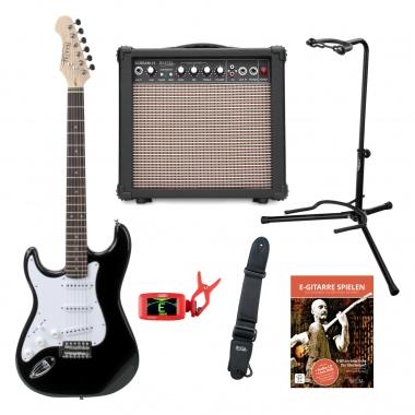 Rocktile Pro Lefty linkshandige electrische gitaarset
