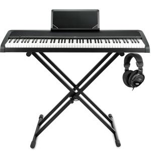 Korg B1 Digitalpiano E-Piano Digital Klavier Dämpfer Pedal Piano Orgel weiß