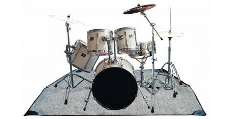 Rockbag RB 22201 B Drum Teppich 2 x 2m