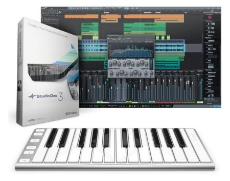 CME XKey Recording-Bundle inkl. PreSonus Studio One 3 Artist Software