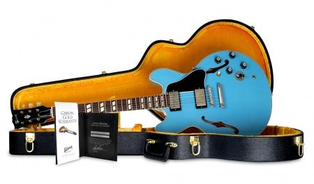 Gibson 1964 ES-345 Frost Blue VOS 2016