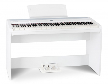 Steinmayer P-60 WM Stage Piano blanco con subestructura