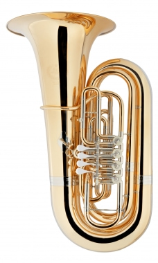 B&S GR55 5/4 Bb Tuba Goldmessing klarlackiert