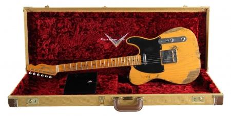 Fender Custom 1953 Heavy Relic Tele BTB