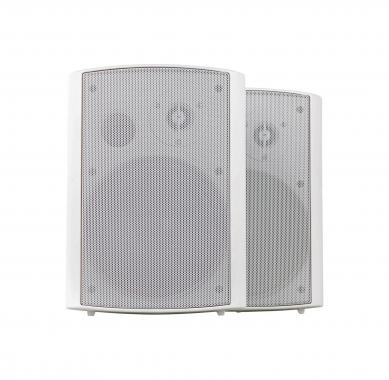 Pronomic USP-430 WH Pair HiFi Wall Speakers, white, 120 watts