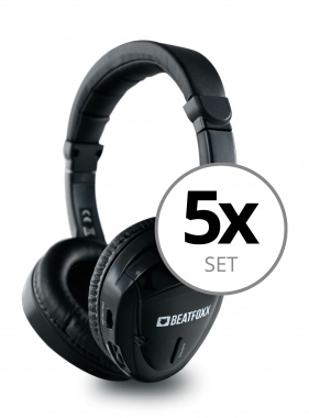 Beatfoxx Silent Guide Classic Headphones 5-Piece Set