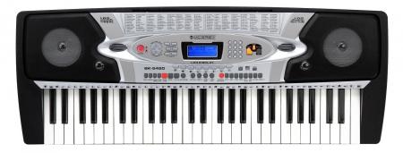 McGrey BK-5420 Keyboard mit 54 Tasten, Mikrofon und Notenhalter  - Retoure (Zustand: sehr gut)