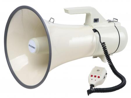 McGrey MP-2000HRS mégaphone, max. 100 Watt, 2400 m