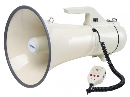 McGrey MP-2000HRS megafoon, max. 100 Watt, 2400m
