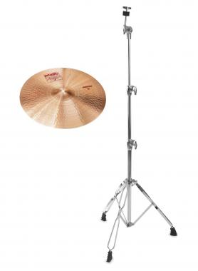 "Paiste 2002 16"" Medium Crash + gerader Beckenständer SET"