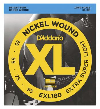 D'Addario EXL180 Extra Super Light
