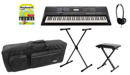 Yamaha PSR-EW410 Keyboard Deluxe Set