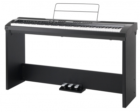 Classic Cantabile SP-150 BK Stagepiano nero SET completo supporto incluso